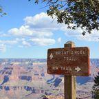 Bright Angel Trail Wanderweg / Grand Canyon