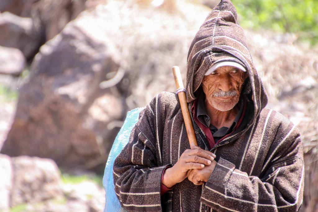 Berber im hohen Atlasgebirge