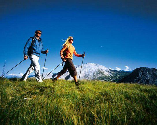 Ideale Walking Strecke