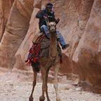 Kameltreiber in Petra