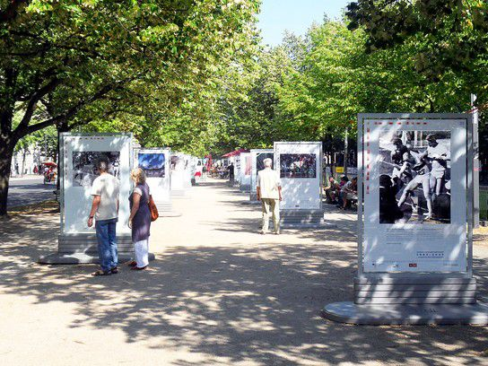 Unter den Linden zur Leichtathletik WM 2009