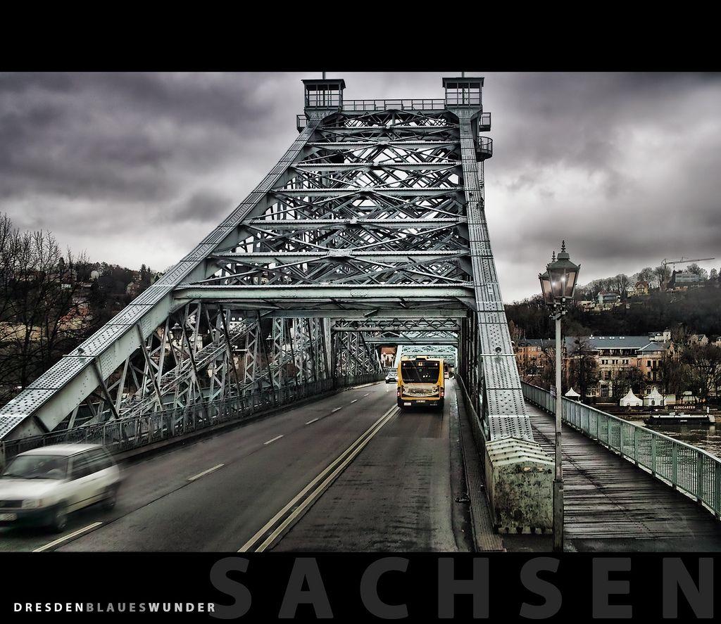 Dresden, Blaues Wunder