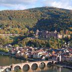 Schloss und Altstadt von Heidelberg schaffen es auf Platz sechs
