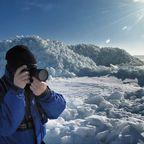 Eisaufschiebungen am Greifswalder Bodden