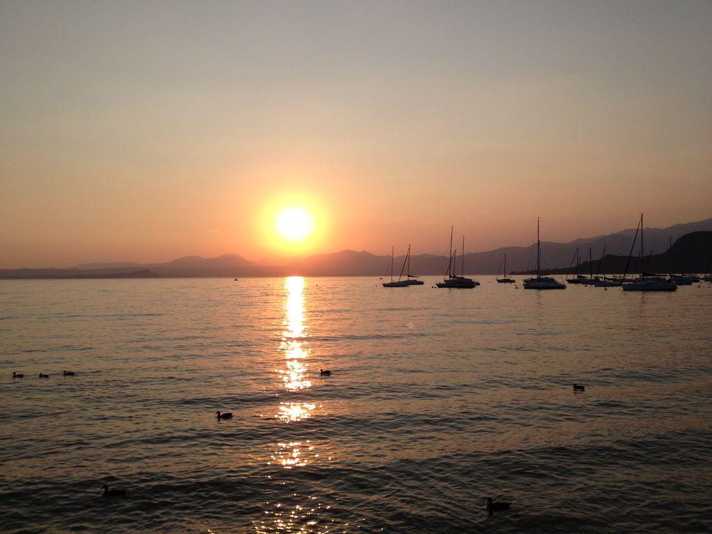 Italienischer Sonnenuntergang