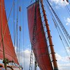Segeln auf alten Schiffen