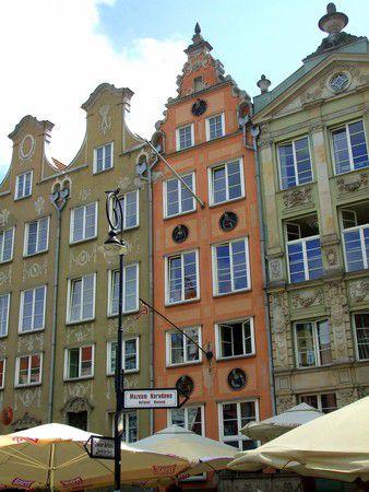 Häuserfront in Gdansk