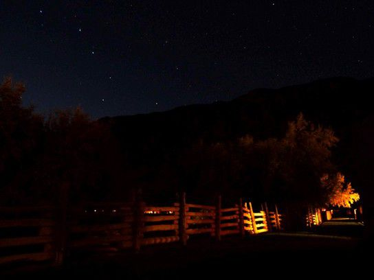 Nachthimmel am Colorado