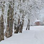 Verschneites Vorpommern