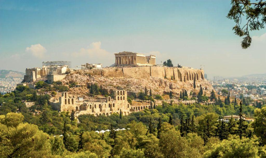 Die Akropolis erkunden