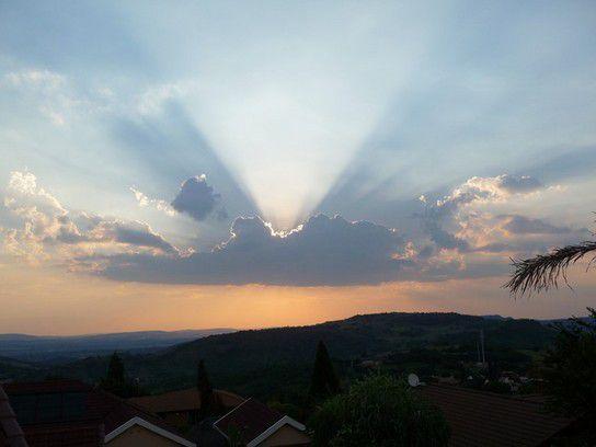 Der Himmel öffnet seine Pforten