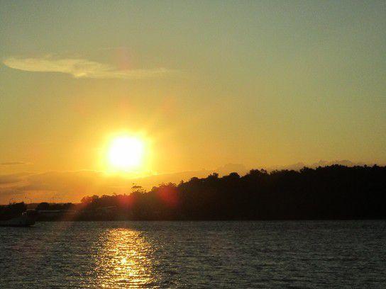 Sonnenuntergang über Hervey Bay