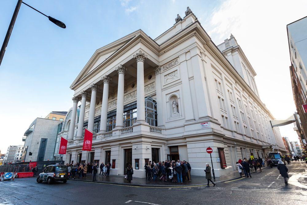 Das Royal Opera House in Covent Garden