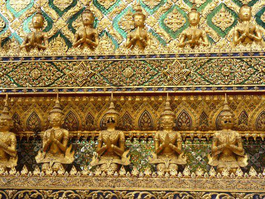 Tempel im Königspalast