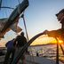 Arbeiten auf hoher See als Seemann