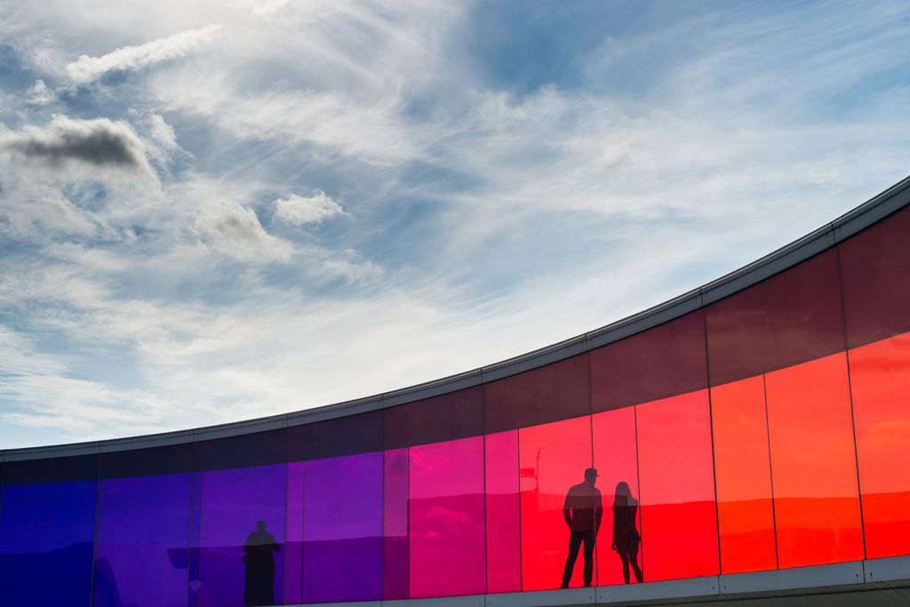 """Your rainbow panorama"" in Aarhus"