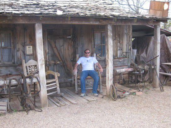 Relaxen wie im Wilden Westen