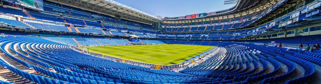 Das Stadion von Real Madrid Santiago Bernabeu