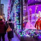 Christmas Shopping auf der 5th Avenue