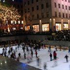 Eislaufplatz beim Rockefeller Center NY
