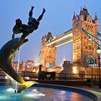Die Tower Bridge in London