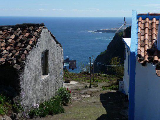 Dorf und Hauptstadt, Azoren