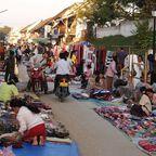 Markttreiben in Luang Prabang