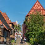 Fachwerkhäuser in Aarhus