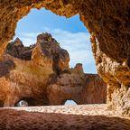 Strand in der Algarve
