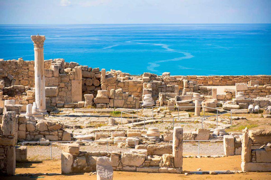 Limassol – Uralte Ruinen als Touristenattraktion