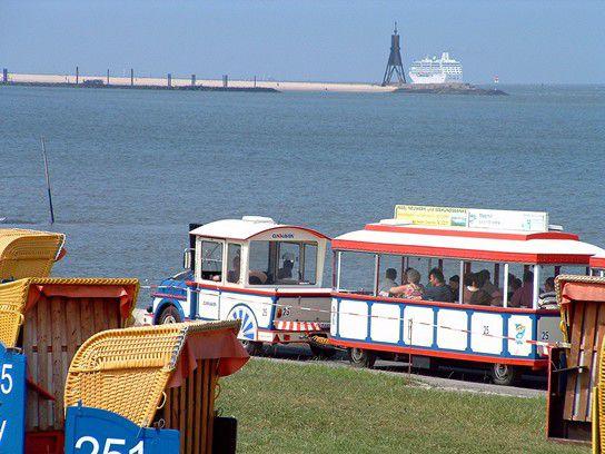 cuxhaven Grimmershörn Strandleber und strandbahn