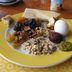 Israelisches Frühstück