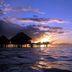 Wasserbungalow auf Moorea