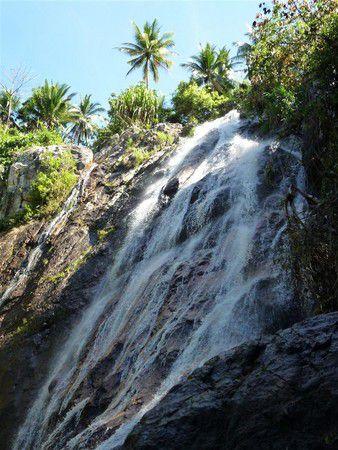 Wasserfall im Landesinneren Koh Samui