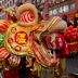 Parade beim Mondfest in China Town
