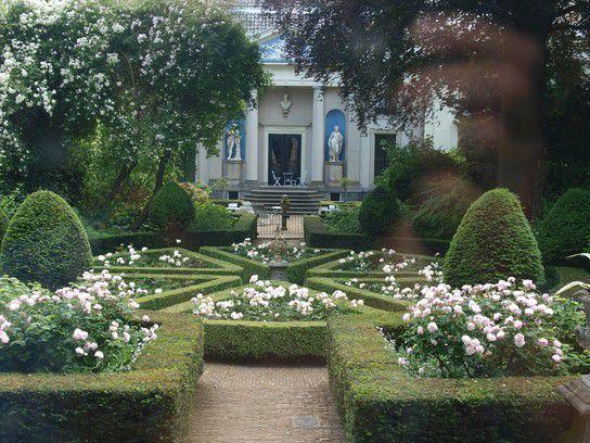 Garten im Museum Van Loon