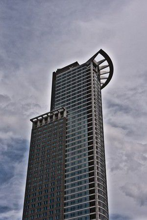 Der Westendtower in Frankfurt