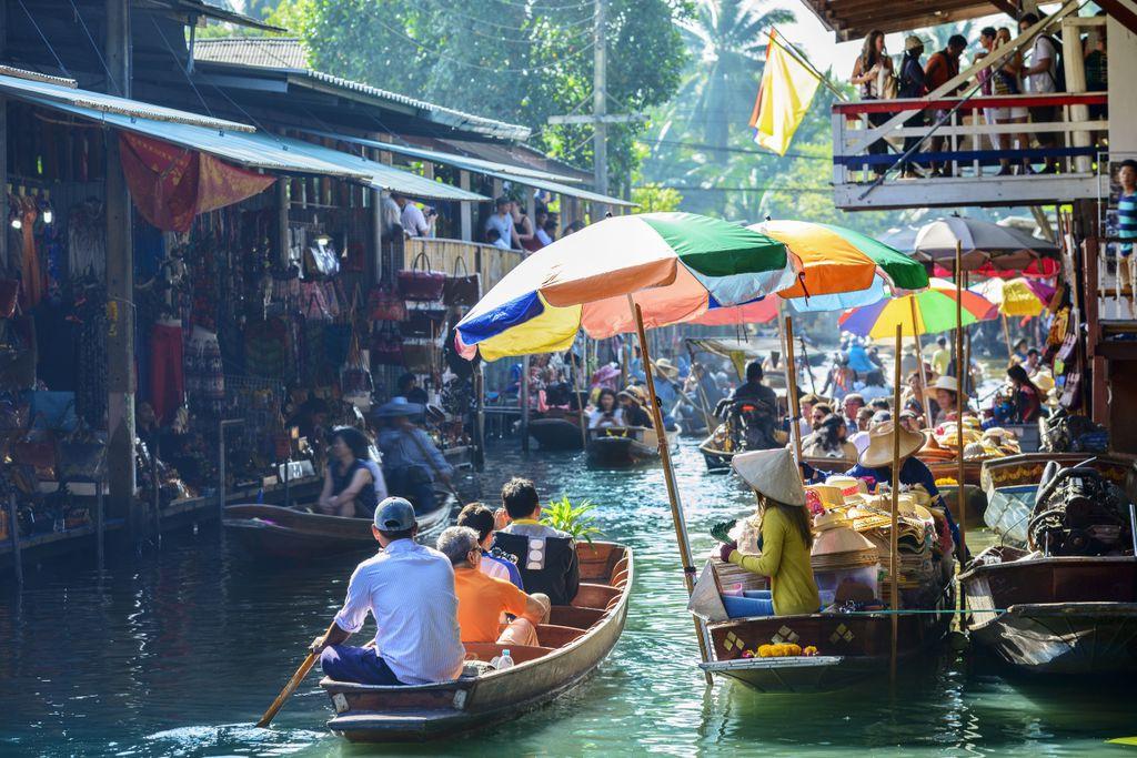 Hier geben Touristen am meisten aus, Platz 5: Bangkok