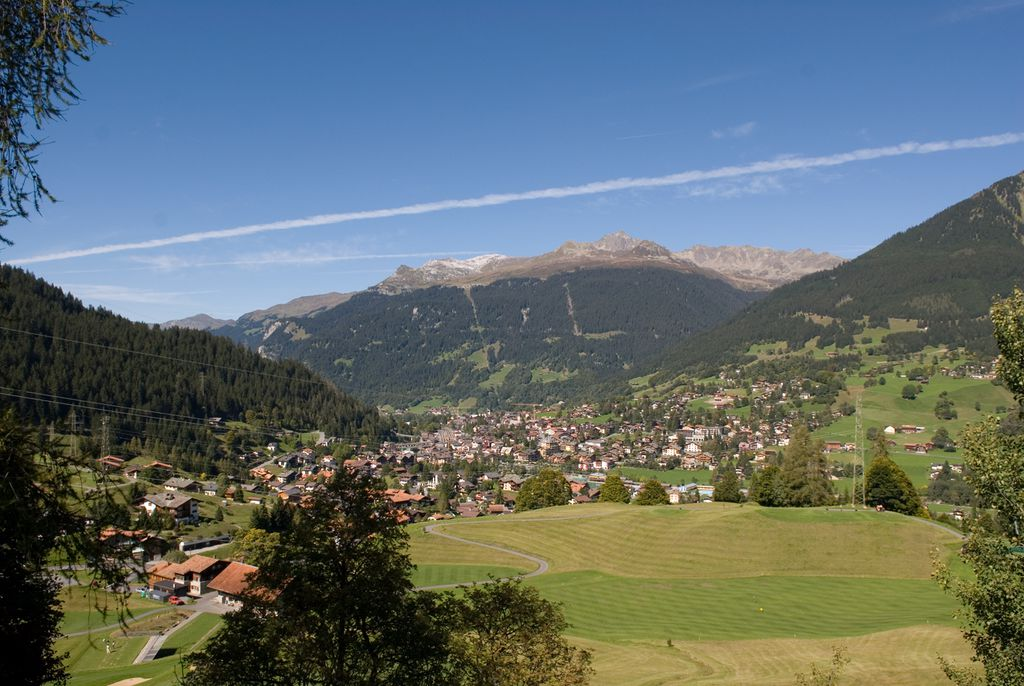 Klosters - Ort im Sommer