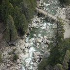 Lower Yosemite Fall von oben
