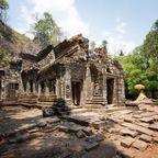 Ruine im Wat Phou Tempelkomplex