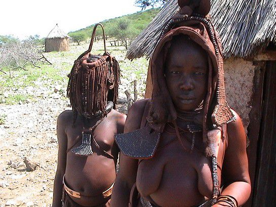 Himbas in Namibia