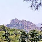 Guadelest das Dorf auf der Bergspitze