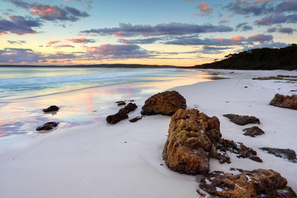 Platz 8 der schönsten Strände der Welt: Hyams Beach, Australien