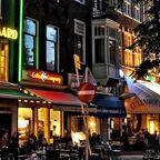 Cafes und Restaurants in Amsterdams Zentrum