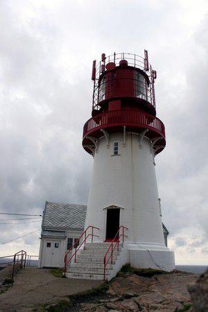 Lindesnes Fyr - Neuer Leuchtturm