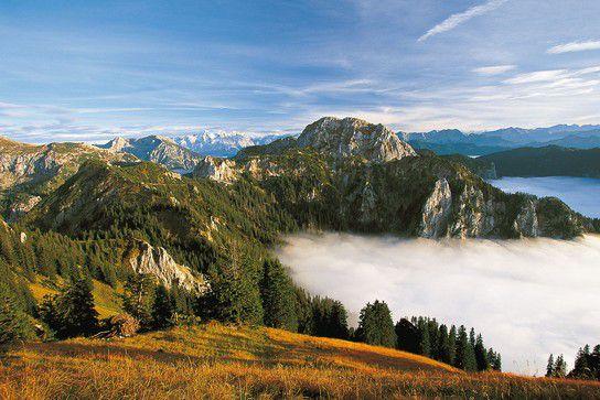 Tegelberg - Alpen im Nebel