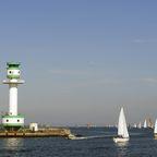 Leuchtturm an der Kieler Fjörde