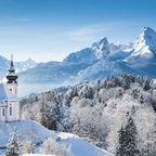 Platz 1 der günstigsten Skiorte in Deutschland: Berchtesgaden