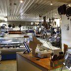 Der kleine Verkaufsbereich des Bjärhus